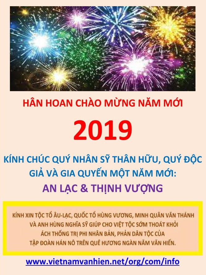 HanHoanChaoMungNamMoi2019